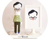 Woody Allen little doll