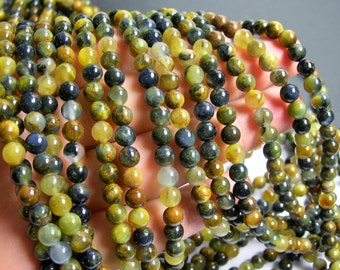 Golden Pietersite - 6mm round bead - A quality - 65 beads - full strand - RFG440