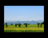 Adirondack Mountains & Lake Champlain New York/Vermont Countryside Fine Art Photographic Print or Canvas Wall Decor Blue Green Nature