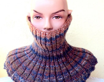 CLEARANCE SALE!  Knit Chunky Cowl Neckwarmer Women Men Fashion Accessories Clothing Accessories Free Shipment