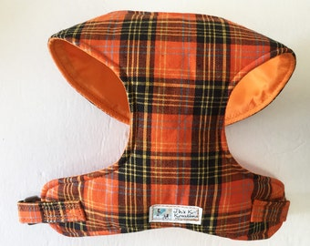 Plaid Comfort Soft Dog Harness - Made to Order-