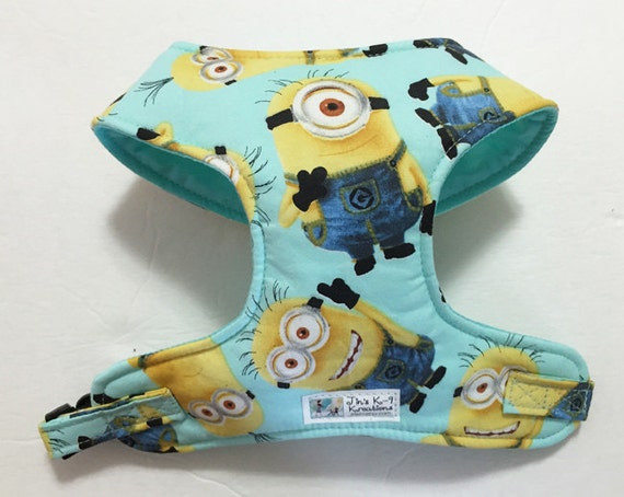 Minion Comfort Soft Dog Harness Made to Order