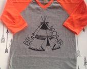 Big Brother Arrow tee pee Shirt Raglan Big Brother Shirt Hipster Big Brother Baby and Toddler Big Brother Shirt Big Bro Shirt Aztec Hipster
