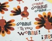 Gobble Till You Wabble - Dog Bandana