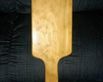 Large pine OTK Spanking Paddle