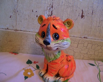 cute tiger piggy bank