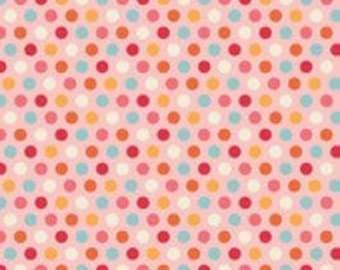 Riley Blake Designs Just Dreamy 2 Dots Pink fabric - 1 yard
