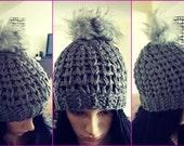 Instant Download Pattern - Crochet Hat Pattern - Chunky Charleston Beanie - Chunky Hat Pattern - Crochet Winter Hat - Crochet in Crochet