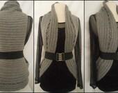Instant Download Pattern - Crochet Vest Pattern - Circular Crochet Vest -Plus Size Crochet Pattern - Crochet in Crochet - Plus size Clothing
