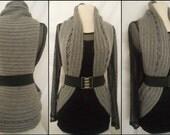 Instant Download Pattern - Crochet Vest Pattern - Circular Crochet Vest - Plus Size Crochet - Plus size Clothing - #Crochet in Crochet