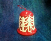 Red Ceramic Bell