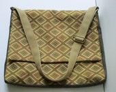 Handmade Messenger Laptop Bag Upholstery Fabric FREE USA SHIPPING