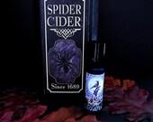 SPIDER CIDER Perfume Oil - Fresh Fall Apples, Frankincense, Clove, Cinnamon Bark, Wood - Halloween Perfume - Fall Fragrance