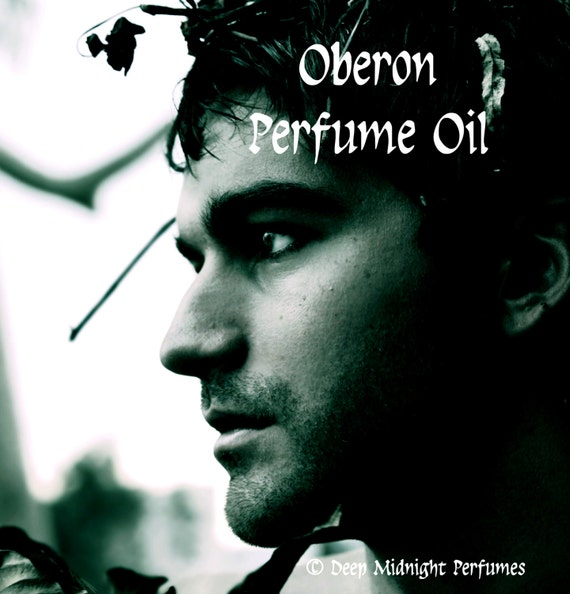 OBERON Perfume Oil -Teakwood, Oakmoss, Gaharu wood, Citrus, Oakwood Fire - Fantasy Perfume