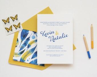 Wedding Invitation Sample - The Duncan Suite