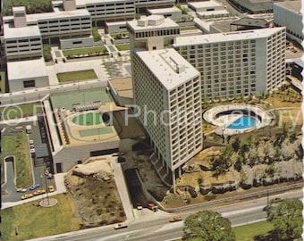 Vintage Postcard, Kansas City, MO., Crown Center Hotel, Vintage Color Photo Photo Postcard, Aerial View Postcard