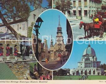 Vintage Postcard, Historic Montreal, Color Postcard, Travel Postcard, Vacation Postcard, Found Postcard, Found Photo,      EtsyPostcard 71