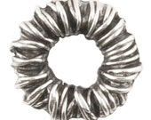 Casting-8mm Wrap Spacer-Antique Silver-Quantity 10