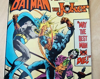 DC bronze age comic book. Brave and The Bold. Batman and Wildcat with The Joker. Vol 21 #118
