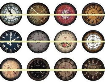Clock Magnets Pins, Vintage Clocks, Magnet Sets, Party Favors