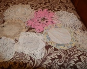 Vintage Doilies - Lot of 8