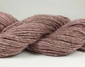 O-Wool Local, Wild Geranium, alpaca yarn.