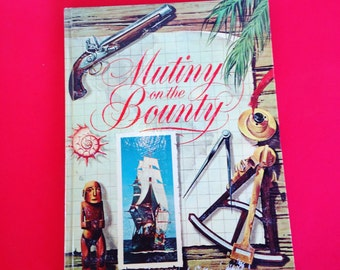 Mutiny on the Bounty 1962 Vintage Children's Book based on the Movie