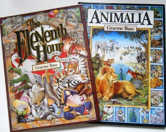 Animalia and The Eleventh Hour, Two Graeme Base Books