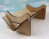 Bookbinding Sewing Cradle Collapsible Wooden Punch Cradle