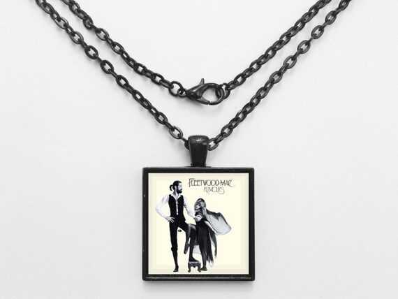 Fleetwood Mac - Rumours Album Cover Necklace OR Keychain