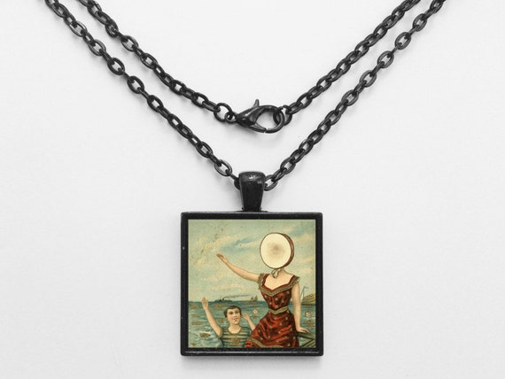Neutral Milk Hotel - In The Aeroplane Over The Sea Album Cover Necklace OR Keychain