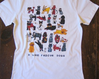 Rescue Dogs Womens T Shirt