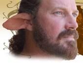 Satyr Faun Fairy Elf Cosplay LARP Halloween Latex Pointed Ears