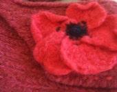 Pink poppy handbag across body soft and comfortable