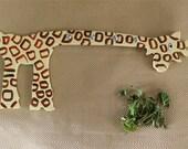 Giraffe Wall Hook / giraffe Rack / giraffe Lovers / Kid's Décor / Key Hook / Housewarming