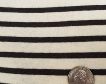 "Rib-56""-Natural-Charcoal Sailor Stripe"
