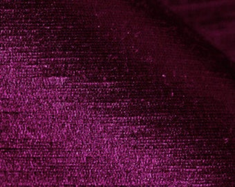 "Charmeuse-57""-Plum-70% Hemp 30 percent Silk"