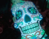Giant soft day of the dead pillow