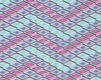 Eden - Labyrinth in Glacier by Tula Pink for Freespirit Fabrics