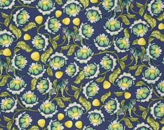 Eden - Lotus in Midnight by Tula Pink for Freespirit Fabrics