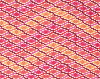 Eden - Labyrinth in Peach by Tula Pink for Freespirit Fabrics