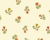Tiger Lily by Heather Ross - Cream Small Roses (40930-5) - 1 Yard
