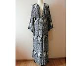 Elephant kimono,Oversize kimono,jacket,kimono cardigan,floor length,Women's Fashion Kimono,Shawl,Boho Clothing,long kimono,kimono with strap