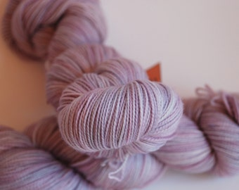 Fingering, Lullaby PINK: 80/20 First-String PLUS SW Merino/Nylon, 815