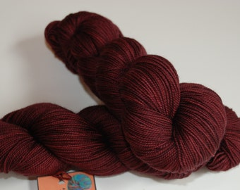 Fingering, Red-osier Dogwood - 80/20 First-String PLUS SW Merino Fingering Wt, 911
