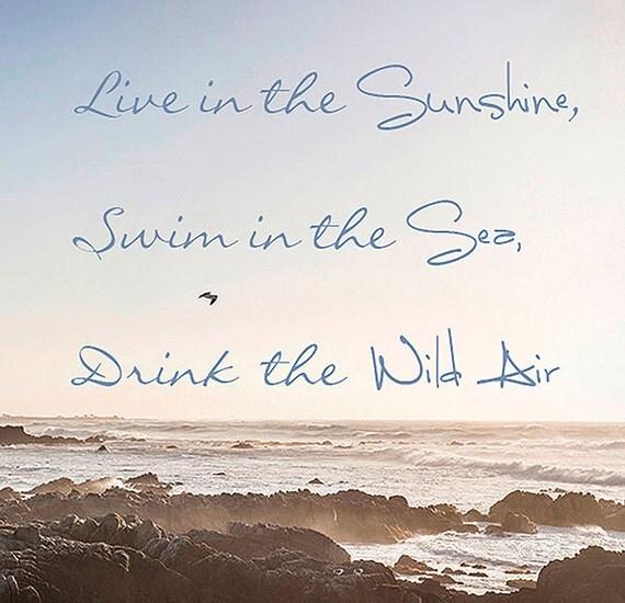 Fine Art Photography, Wall Art, Seascape, Beach Photograph, OceanLandscape, Summer, Pastels, Coastal Decor, Room Decor, 8x8 Print