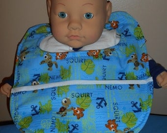 Finding Nemo with Squirt Baby Bib