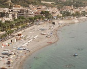 Beach Decor - Sicily Italy Photography - Italian Beach Print - Ocean Home Decor - Mediterranean Sea - Travel Photography - Muted Pastels