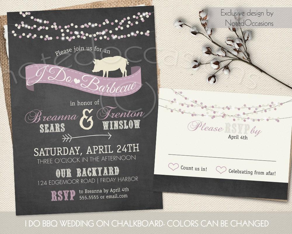 i do bbq wedding reception invitations 28 images i do bbq