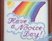 Have a Nooice Day - Instant Pattern